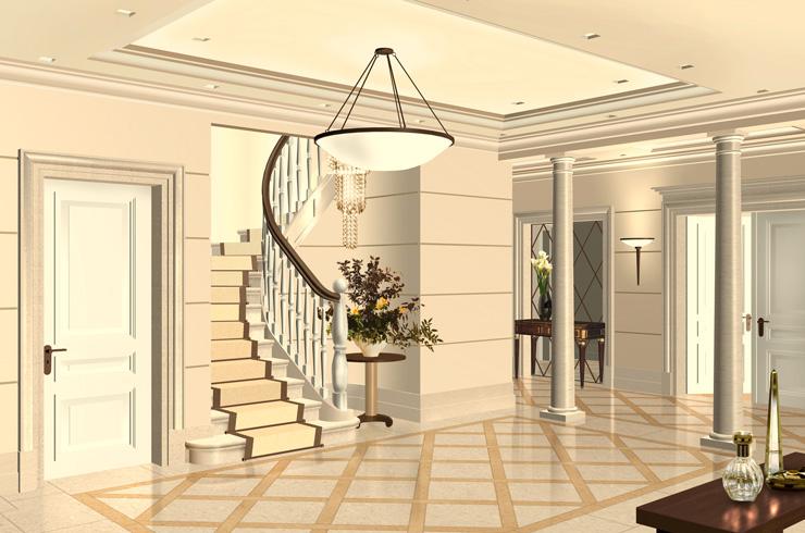 villa moscow | stamm planungsgruppe, Innenarchitektur ideen